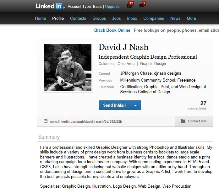 JPMorgan Chase - David J Nash - Profile