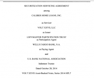 securitization-servicing-agreement-lsf9-master-particiapation-trust